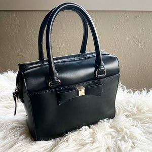 Like new Kate Spade Leather Tote with Bow